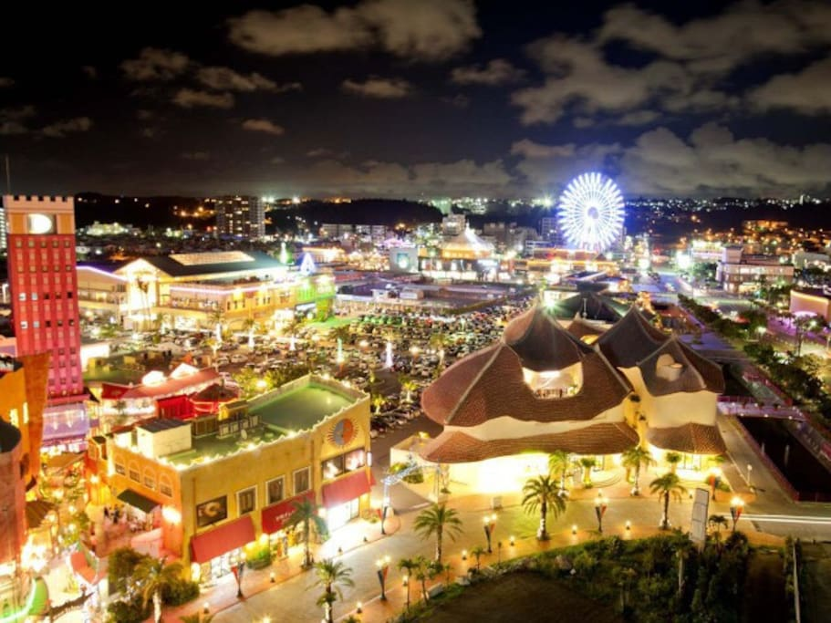 There is Chatan ... American village . 北谷〜アメリカンビレッジもあります。