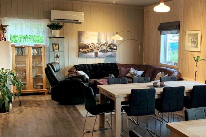 Renovert gårdshus i naturen -Brumunddal, Ringsaker