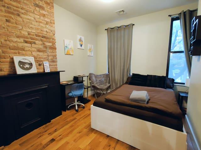 Stylish LOFT locked private room! GREAT LOCATION3