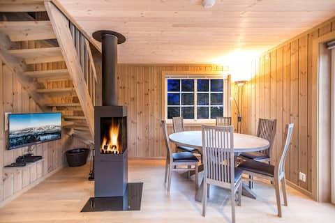 Moderne hytte med 3 soverom og ski inn/ut på Geilo