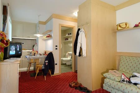STUDIO 50m from cable car - Canazei - Apartemen