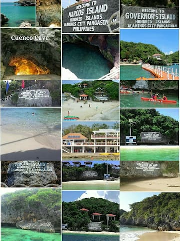 Hundred Islands Included in Island hopping *BOAT & Swimming gears  for Rent