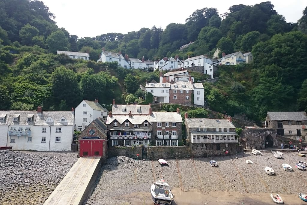 Clovelly - Village and Harbour