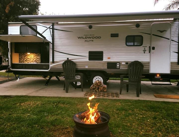Travel Trailer #1 with outdoor Kitchen