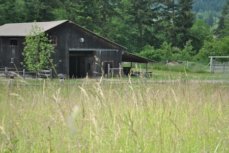 Free Horse Farm Stay - Friday Harbor - Rumah