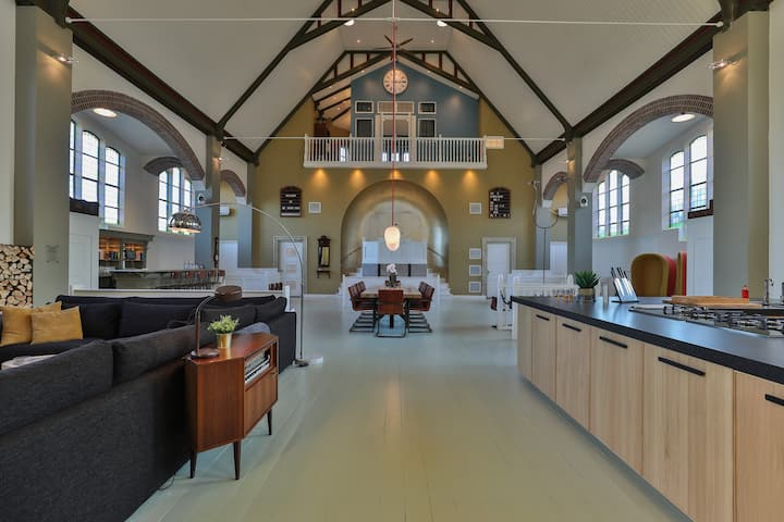Church conversion for a unique stay and experience