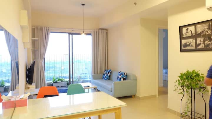 Luxury apartment with full amenities..