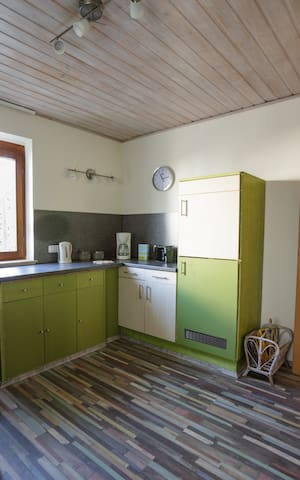 Bright Kitchen area with all the necessities