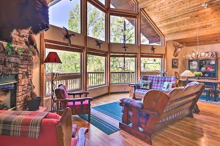 NEW! Rim Country Retreat w/Multi-Level Deck & View