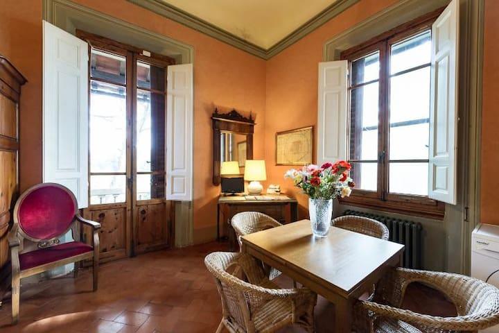 Romantic Villa Studio with balcony