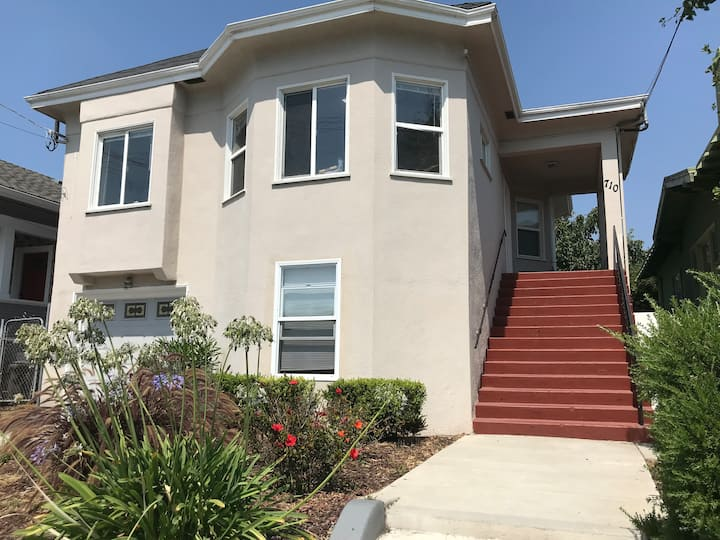 Newly remodeled master suite near MacArthur Bart