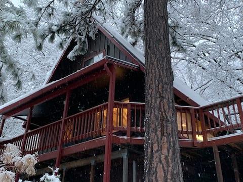 Peaceful Pioneer Cabin