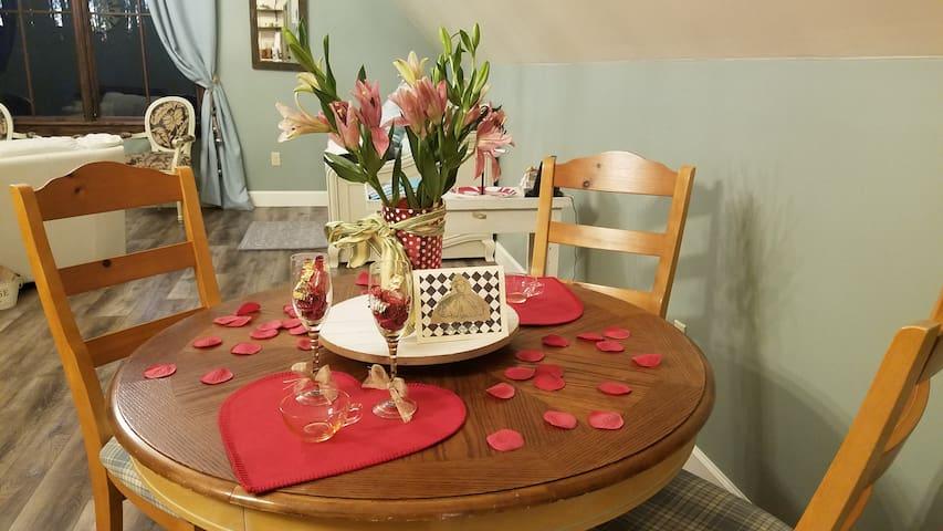 Celebrate your honeymoon or anniversary!
