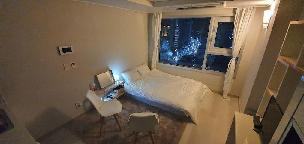 ☆신규오픈☆Goni house#2 고층 해운대구 해운대해수욕장도보5분중동역도보2분