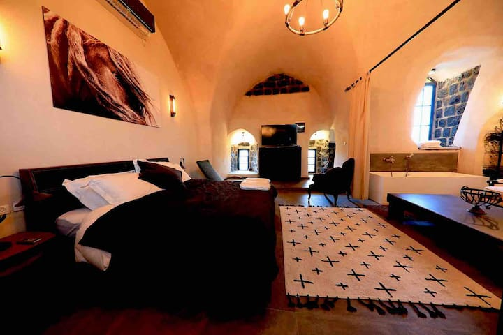 Catered Suite in Ancient Citadel & Kinneret Views