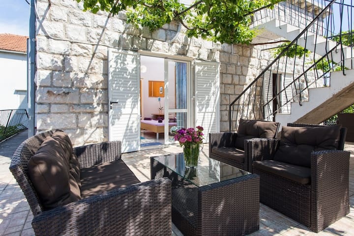 Standard Double Room with Terrace and Garden View - Zaton - Dům