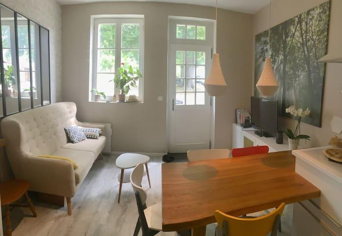 Chambre a Montgrésin entre Chantilly et Senlis