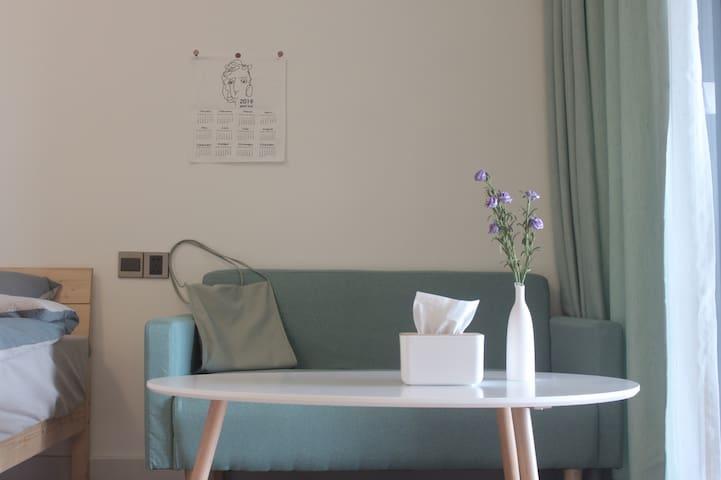 「布鸡公寓」汕尾保利金町湾望海寓2栋高层海景房 绿 两房相邻