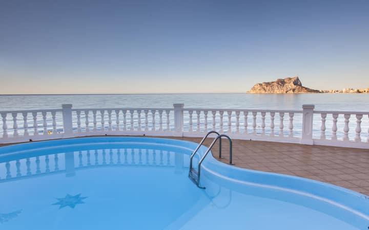 MARINA BALADRAR - Villa for rent for 8 people on the seafront in Cala Baladrar