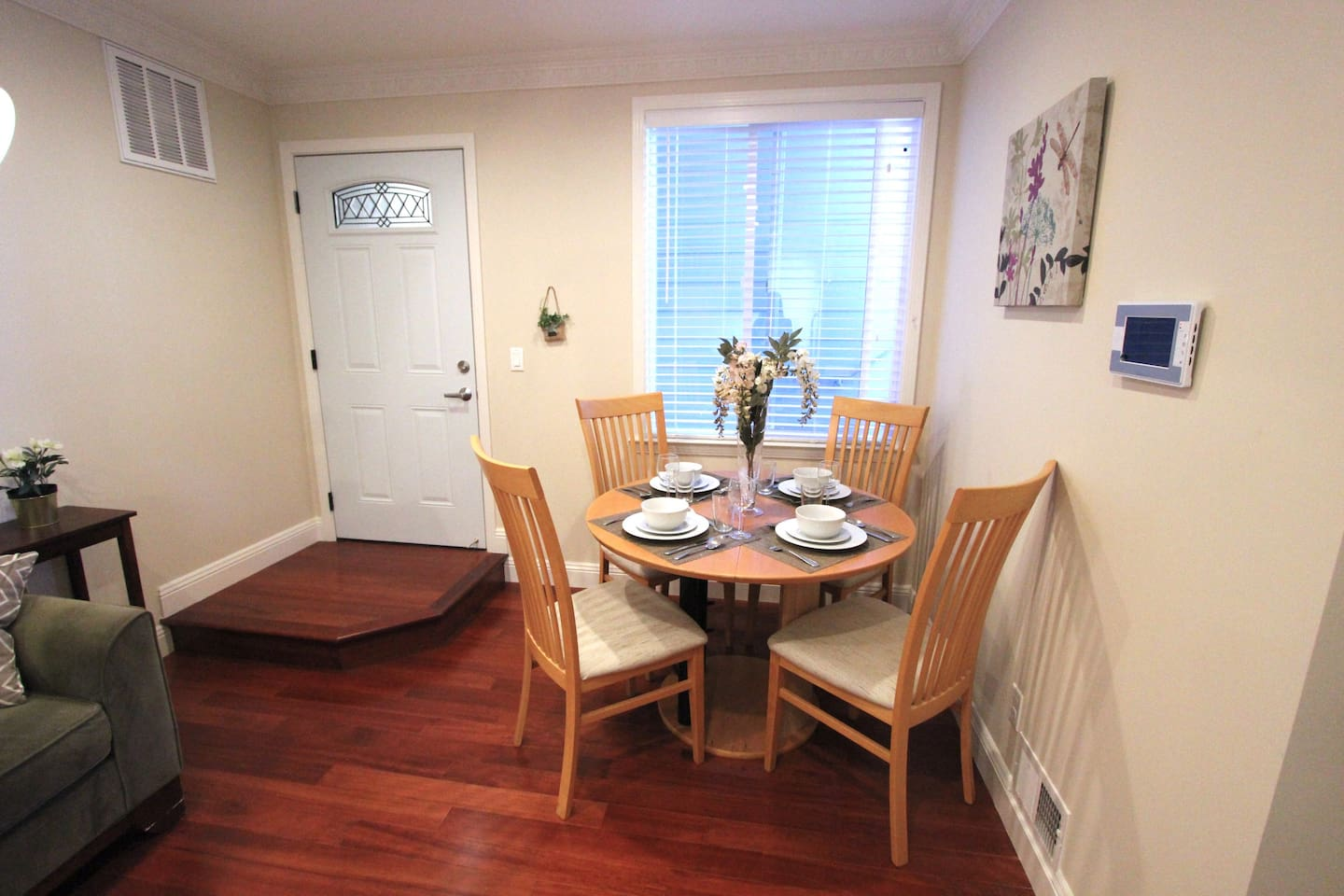 Dining / living space in one