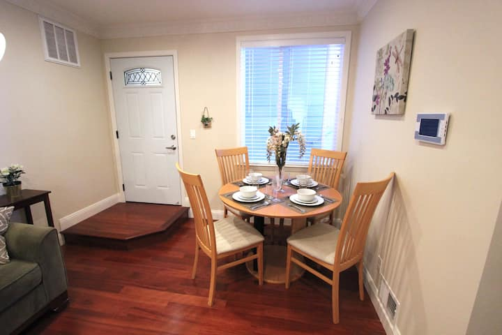 Comfy New 2BD | Private and Near Freeways