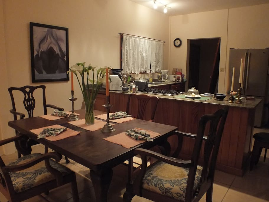From Dining Room to Kitchen