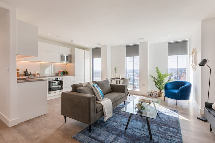 ♞♡✯Modern 1 Bed Apartment Near Discovery Museum✯♡♞