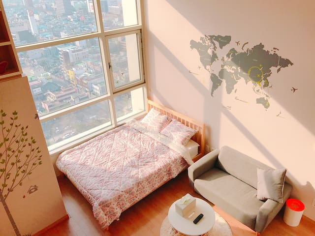 대구시내, 모든곳이 도보권,복층, Best Location, Perfect View - Jung-gu - Apartemen