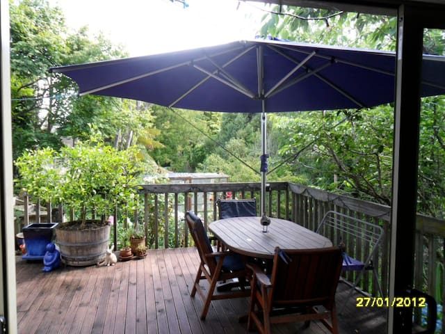 Peaceful Gully & Garden Location