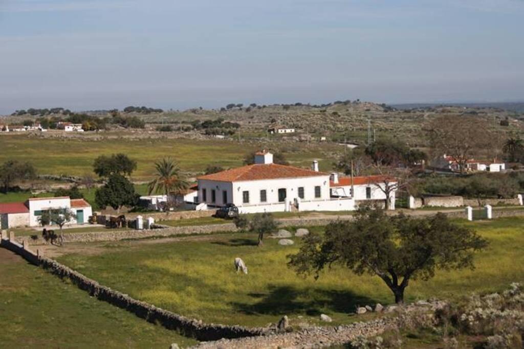 Casa de campo con finca privada en extremadura villa 39 s te huur in valencia de alc ntara - Casa de campo valencia ...