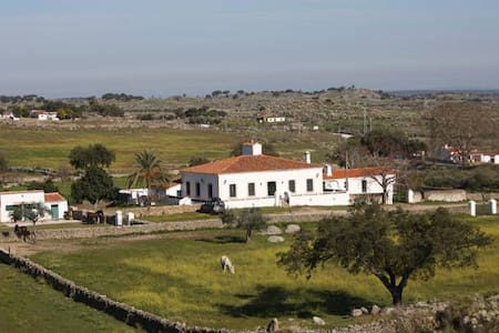 Casa de campo con finca privada en Extremadura - Valencia de Alcántara - 별장/타운하우스