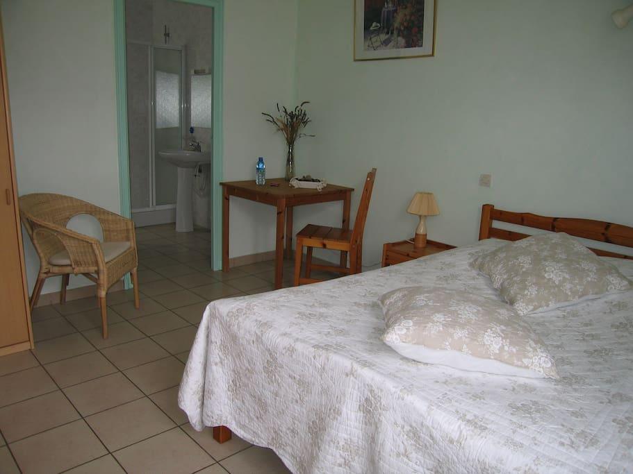 Chambre à 2 places.