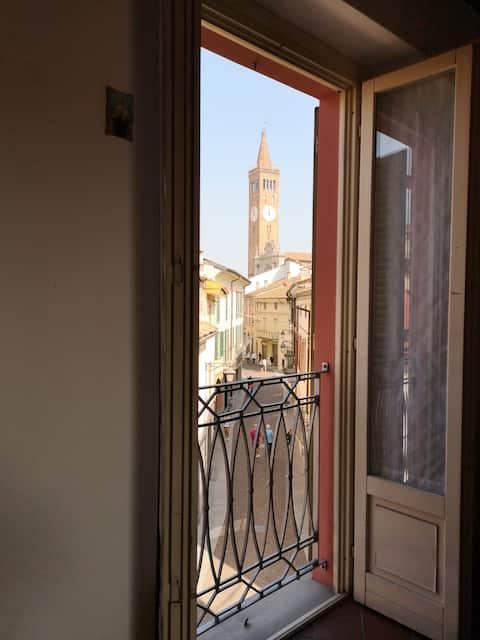 Casa di ringhiera nel centro storico di Treviglio