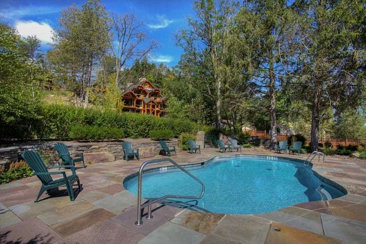 Oneida Lodge- Pool, Lake, AC, 10 guests, 7 miles to Cooperstown, NO WHERE near ordinary!