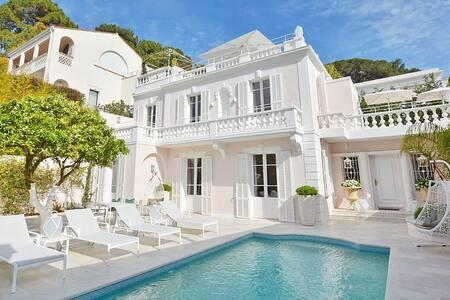 4 Bed Villa in Cap d'Antibes 2 min. Walk to Beach - Antibes