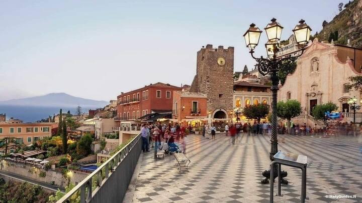 Kinderfreundliche Ferienwohnung in Südost Sizilien
