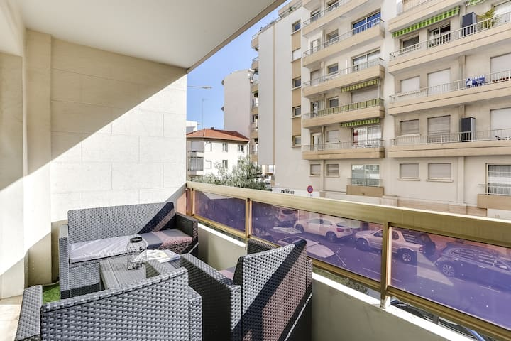 Perfectly located 1 Bedroom - Cannes - Apartament