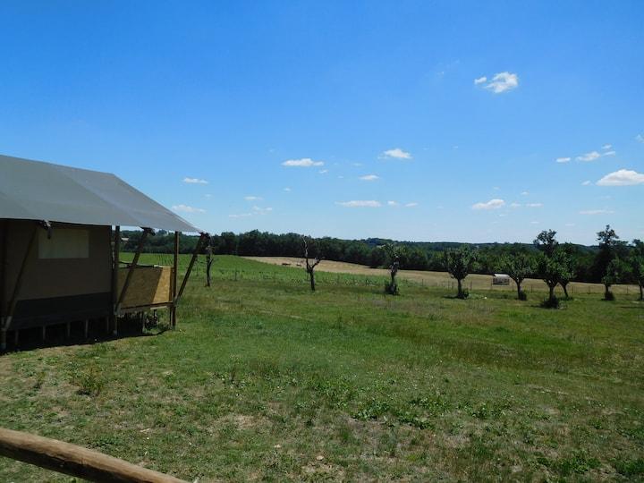 Tente Safari de 25m2