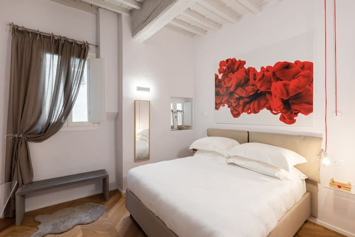 DOUBLE ROOM WITH PRIVATE BATHROOM AND PLASMA TV