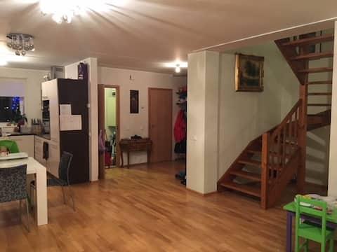 Nice 120 m2 family house