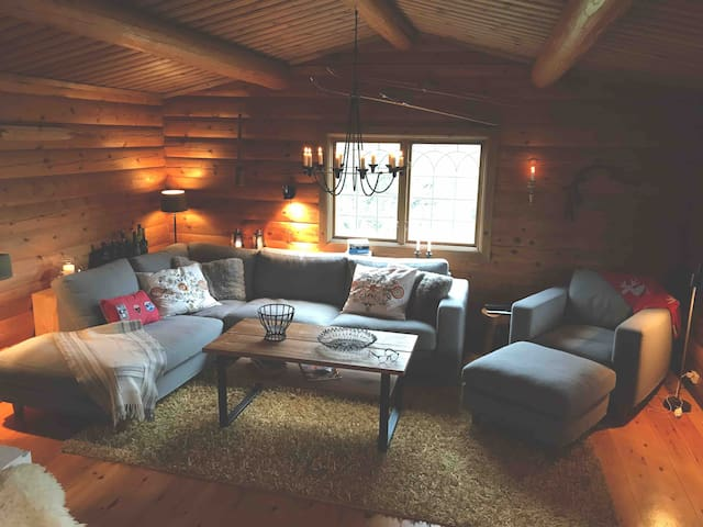 The cosiest lodge in Storhogna - perfect location!