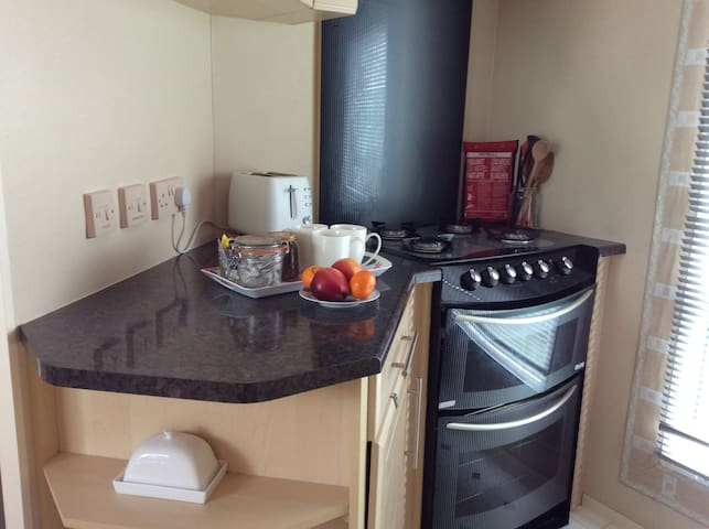 Holiday Home Caravan, Lochlands, Forfar,Angus