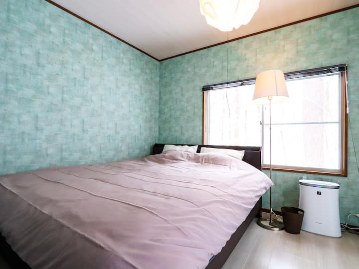 【Karuizawa Kusatu】Home-like cottage/Max 5 ppl/WiFi
