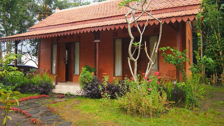 The Makcik Villa, feel a rustic atmosphere