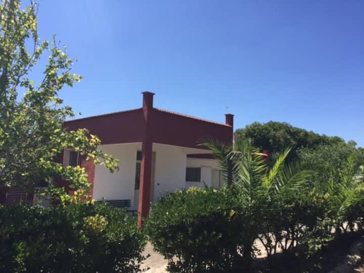 Casetta con ampio giardino nel cuore del Salento
