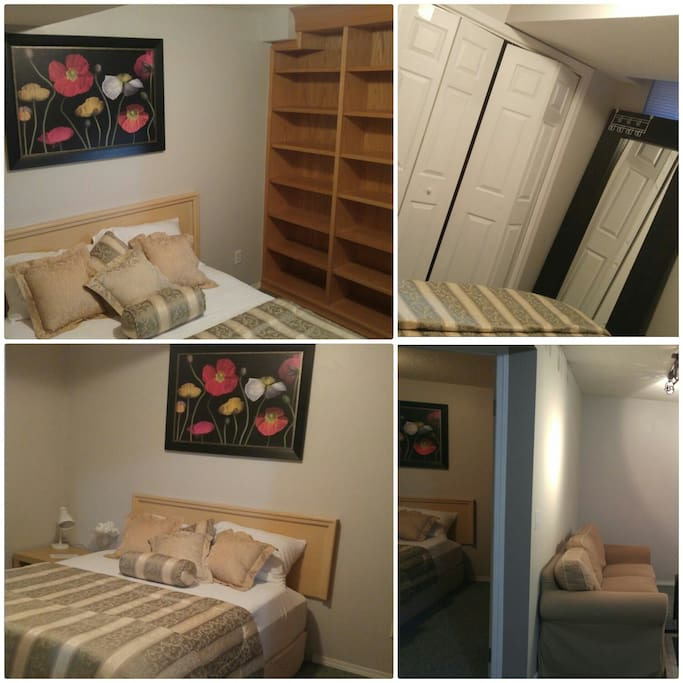 Upscale Basement Suite Near Crowfoot Train Station