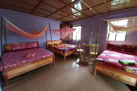 Budget Quad Double Room at Cherrapunjee