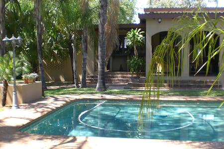Riverbed Lodge Pool House