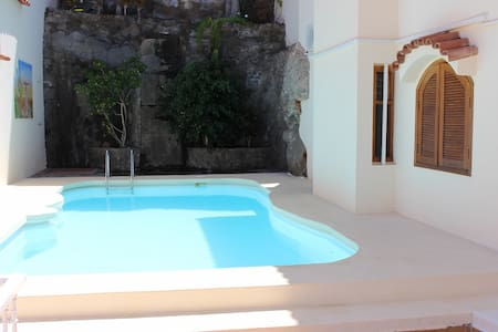 Lovely apartment with a great view/private pool - Wohnung