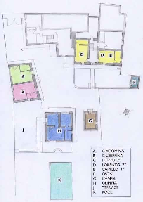 A on site plan